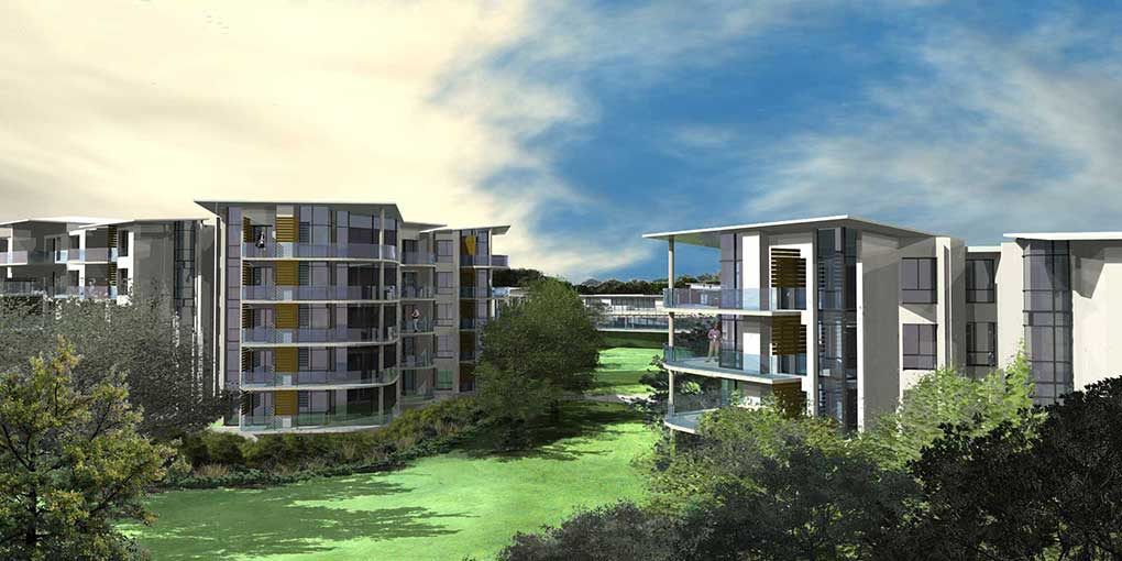 Digital Architectural Visualization using Rhino 5 and Flamingo NXT – Multi storey Aged Care Design
