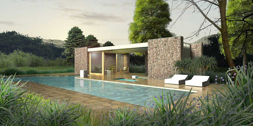 Digital Architectural Visualization using Rhino 5 and Vray  Postwork in Photoshop  – Residential Design